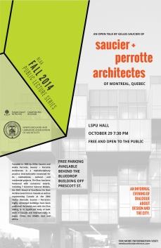 saucier perrotte architectes poster